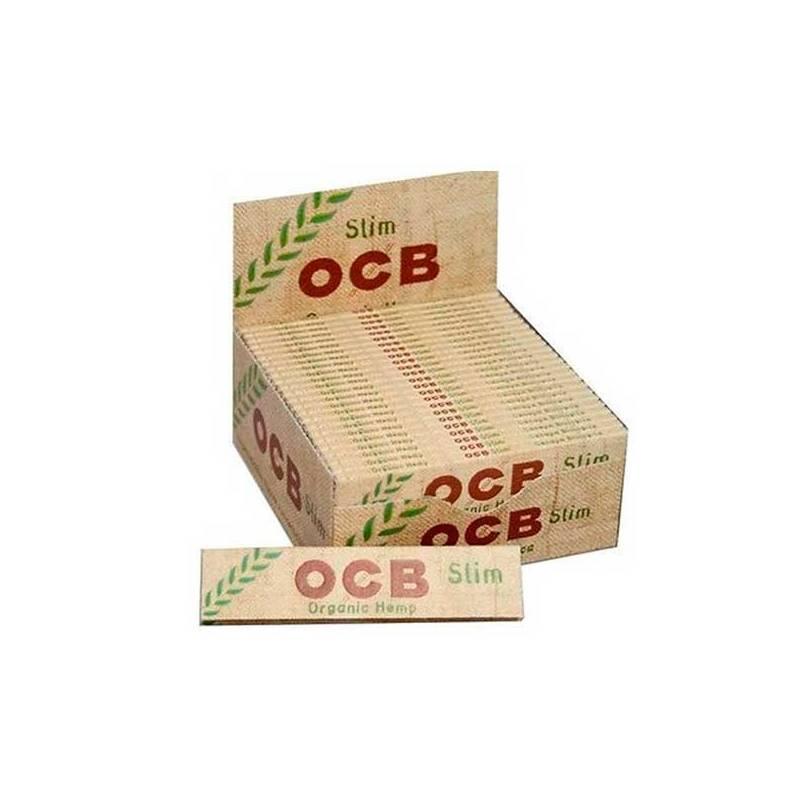 Papel OCB Slim Organic (50 Libritos)
