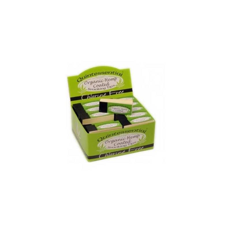Filtros Cubiertos De Cañamo Organico (50 Unidades / Caja)
