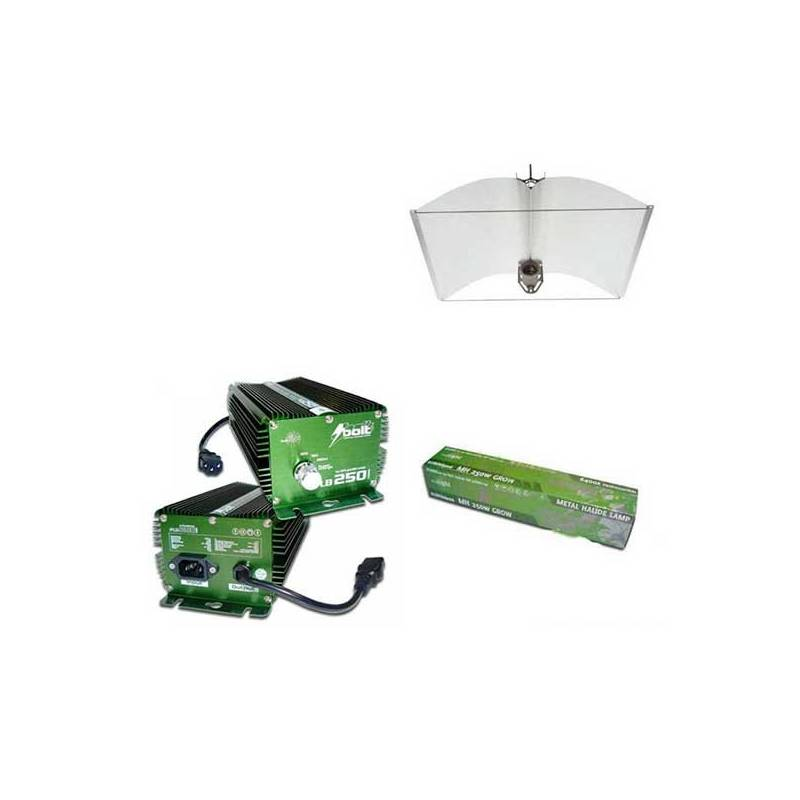 Kit 250 W Bolt + Adjust-a-wings® Enforcer Medium + Pure Light Mh 250 W Grow (HM)