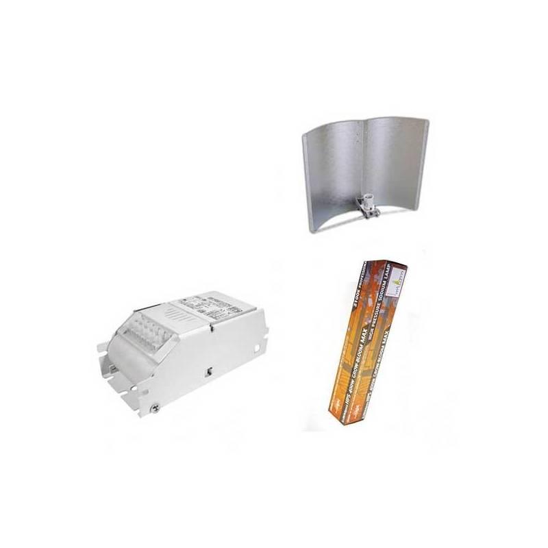 Kit 400 W Eti + Adjust-a-wings® Enforcer Medium + Pure Light Hps 400 W Grow-Bloom Max