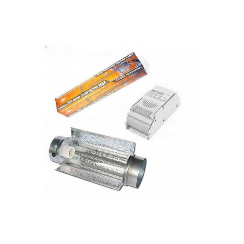 Kit 400 W Eti + Cooltube 125 + Pure Light Hps 400 W Grow-Bloom Max