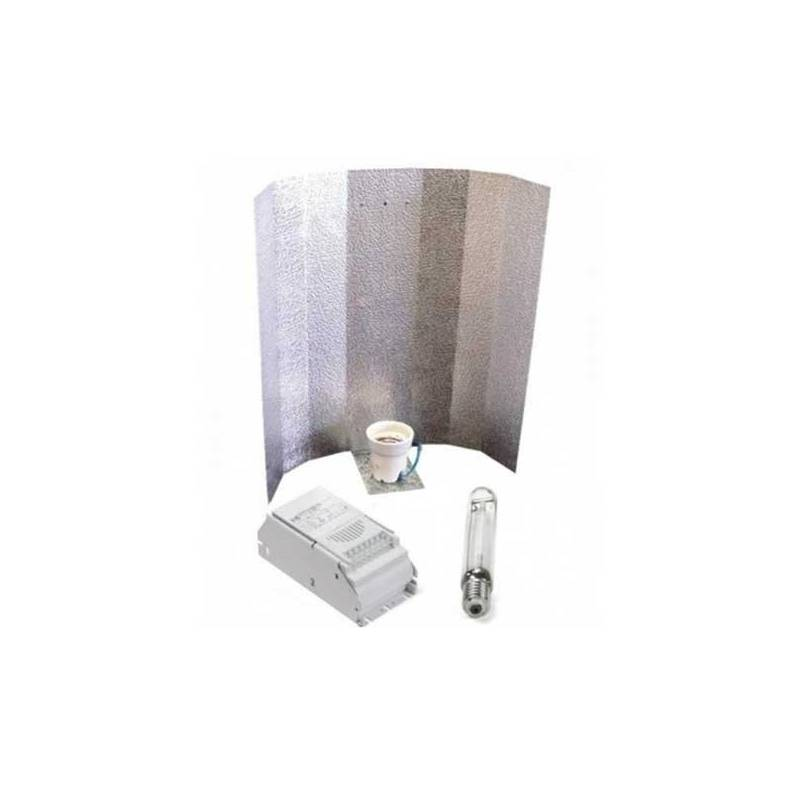 Kit 400 W Eti + Reflector Stuco + Pure Light Hps 400 W Bloom