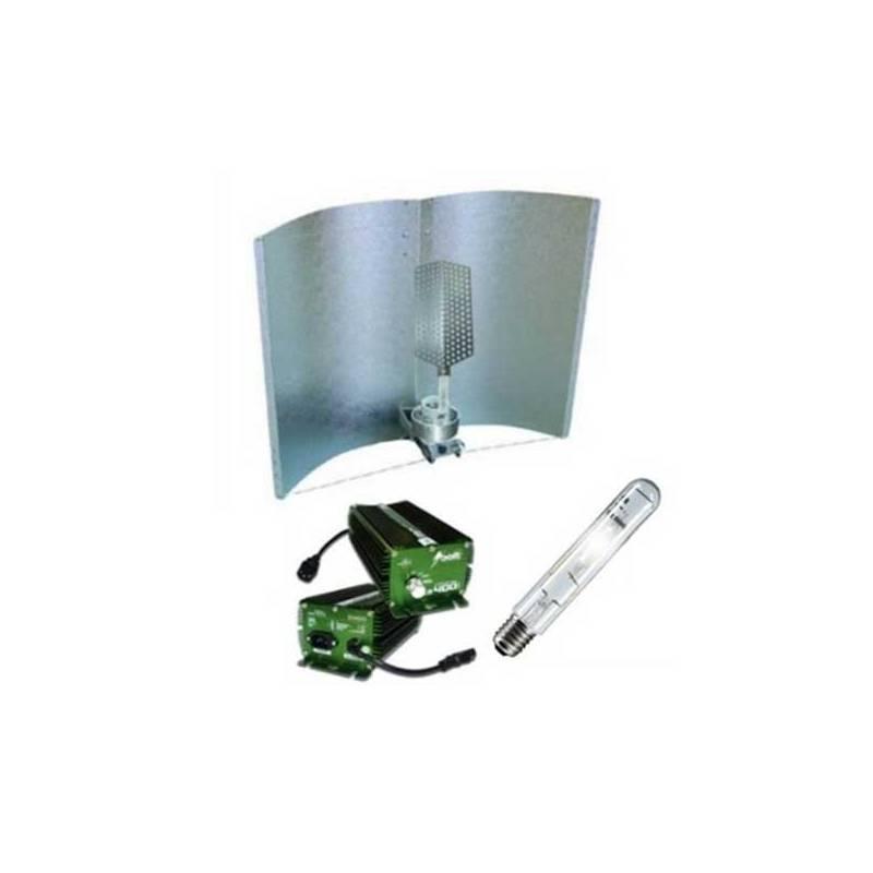 Kit 600 W Bolt + Adjust-a-wings® Enforcer Medium + Pure Light Hps 600 W Bloom