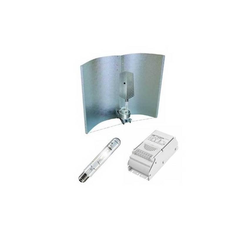 Kit 600 W Eti + Adjust-a-wings® Grande Profesional Con Spreader + Pure Light Hps 600 W Grow-Bloom Max