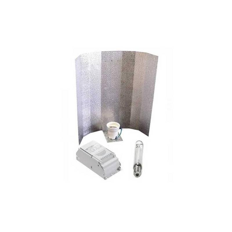 Kit 600 W Eti + Reflector Stuco + Pure Light Mh 600 W Grow (HM)