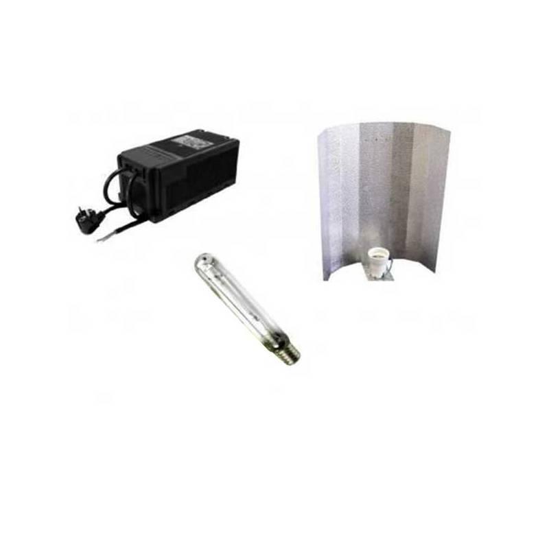 Kit 600 W Eti Clase 2 + Reflector Stuco + Pure Light Mh 600 W Grow (HM)