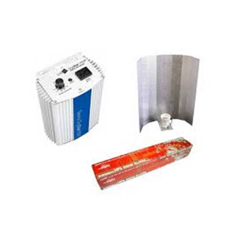 Kit 600 W Gavita + Reflector Stuco + Pure Light Hps 600 W Bloom