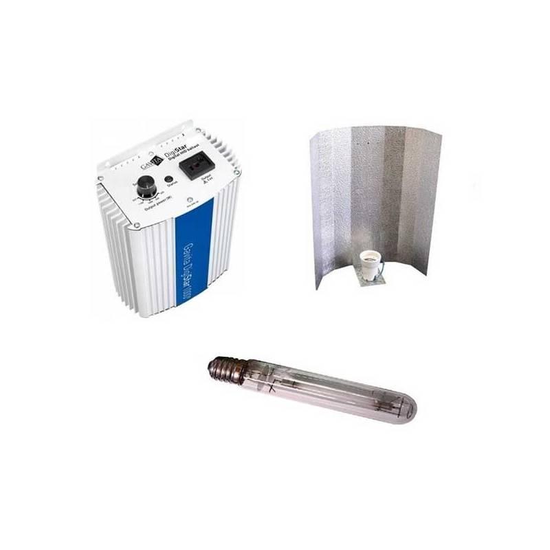 Kit 600 W Gavita + Reflector Stuco + Pure Light Hps 600 W Grow-Bloom Max