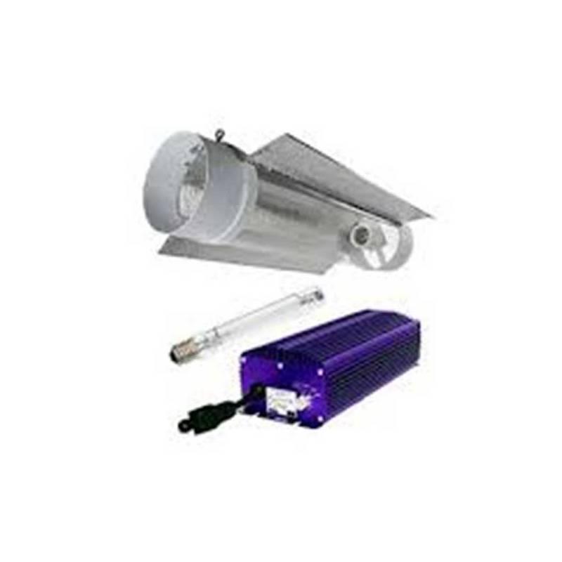 Kit 600 W Lumatek + Cooltube 150 mm + Pure Light Mh 600 W Grow (HM)