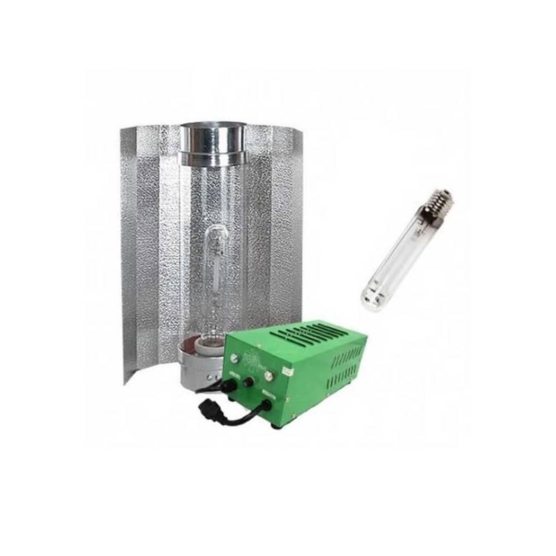 Kit 400 W Pure Light Plug & Play + Cooltube 125 + Pure Light Hps 400 W Bloom