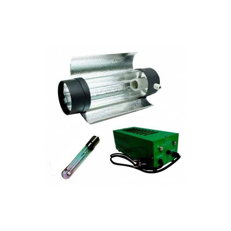 Kit 400 W Pure Light Plug & Play + Cooltube 125 + Sylvania Grolux 400 W