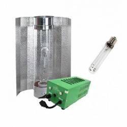 Kit Balastro 600 W Pure Light Plug & Play + Cooltube 125 + Sylvania Grolux 600 W