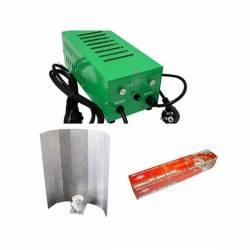 Kit Balastro 600 W Pure Light Plug & Play + Reflector Stuco + Pure Light Hps 600 W Bloom