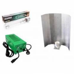 Kit Balastro 600 W Pure Light Plug & Play + Reflector Stuco + Sylvania Grolux 600 W