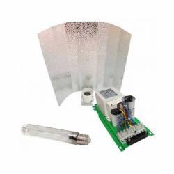 Kit Balastro Pure Light 400 W + Reflector Stuco + Pure Light Mh 400 W Grow (HM)