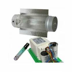Kit Balastro Pure Light 600 W + Cooltube 125 + Pure Light Mh 600 W Grow (HM)