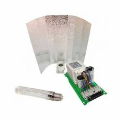 Kit Balastro Pure Light 600 W + Reflector Stuco + Sylvania Grolux 600 W