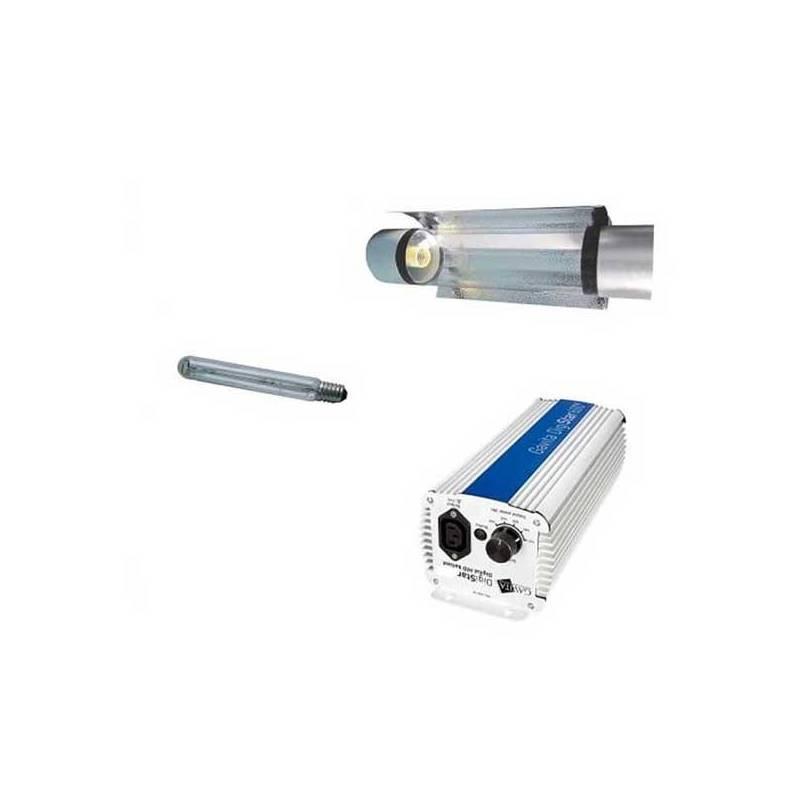 Kit 400 W Gavita + Cooltube 125 mm + Pure Light Hps 400 W Grow-Bloom Max