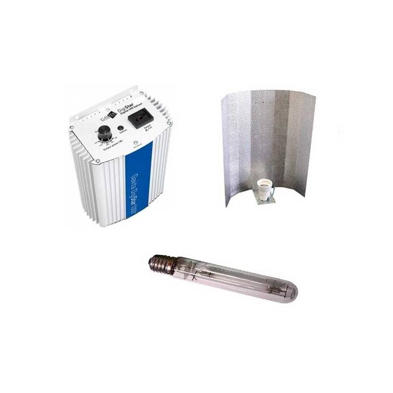 Kit 400 W Gavita + Reflector Stuco + Pure Light Hps 400 W Grow-Bloom Max