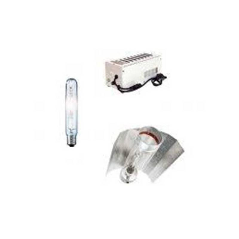 Kit 400 W Pro Gear +Cooltube 125 +Pure Light Hps 400 W Bloom