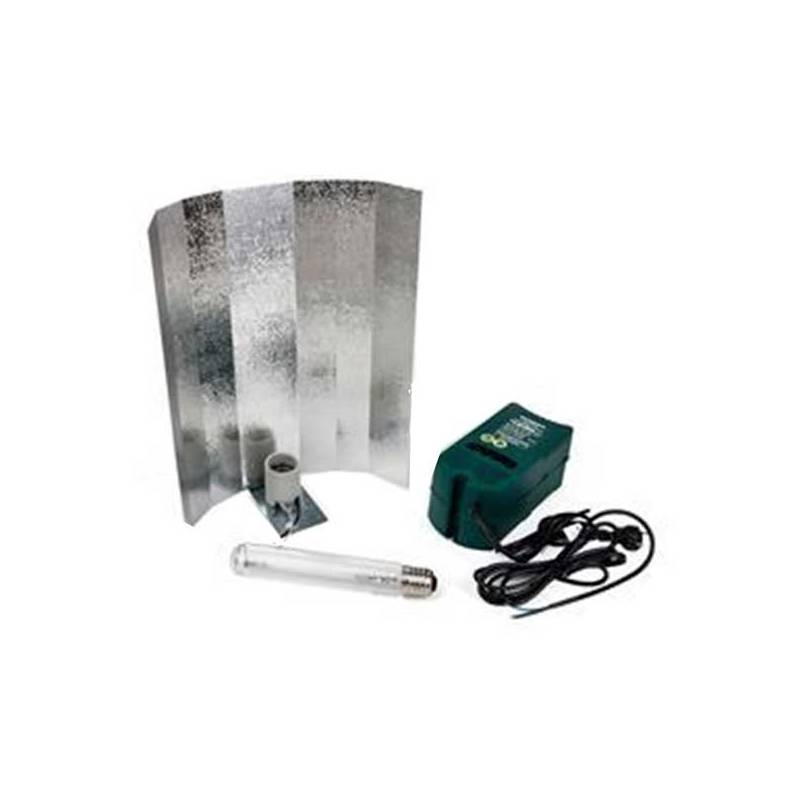 Kit 400 W Vdl + Reflector Stuco + Pure Light Hps 400 W Grow-Bloom Max