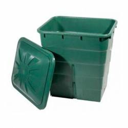 Depósito Verde Rectangular