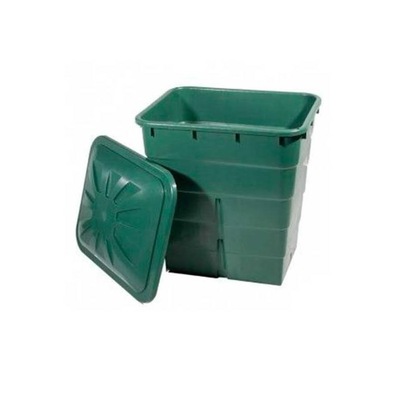 Depósito Verde Rectangular - 200 L