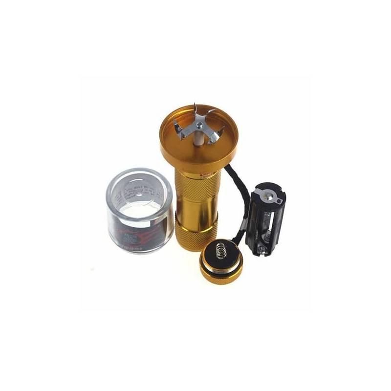 Grinder eléctrico de aluminio - Dorado