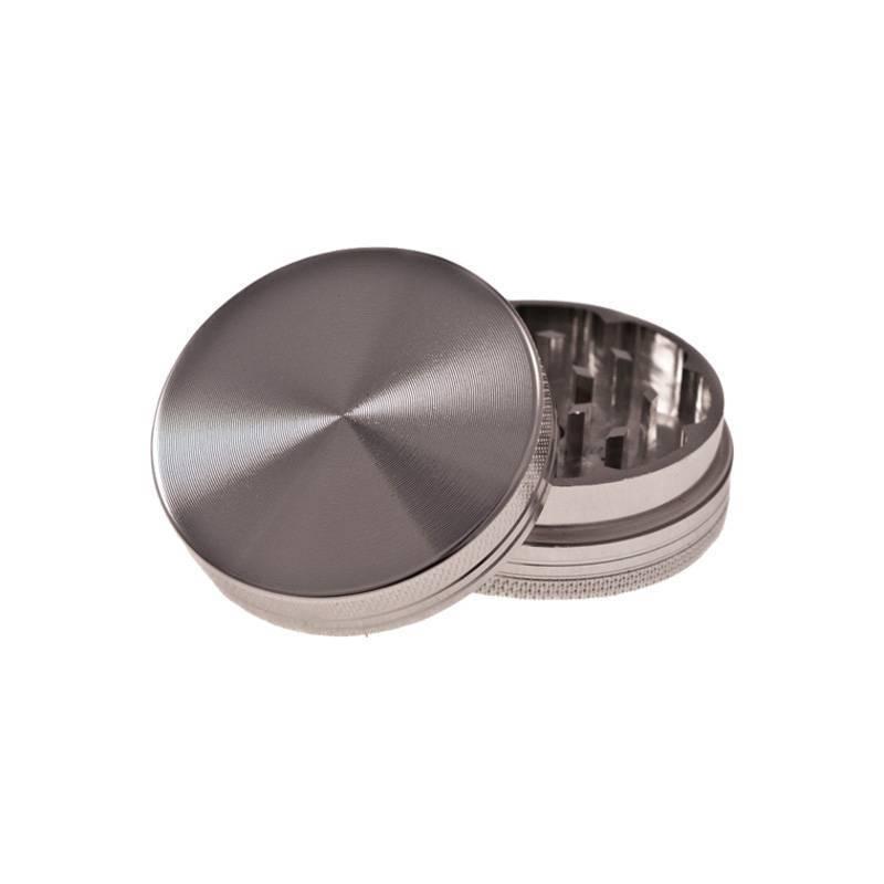 Grinder Aluminio Magnético CNC 40 mm - Gris metalizado