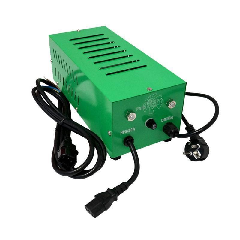 Balastro Pure Light Cerrado Plug & Play + Cable C-14 de Pure