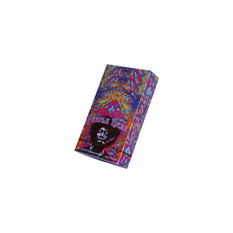 Papel De Fumar Purple Haze 1 1/4 (25 Libritos)