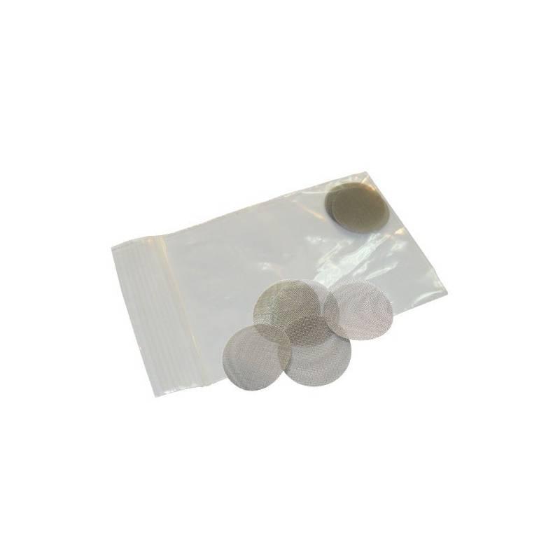 Filtro De Acero Para Resina, 25 mm (5 Unidades)