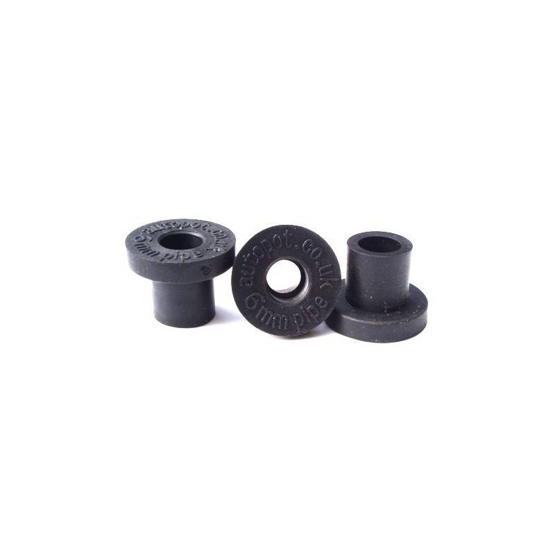6mm Top Hat Grommet Autopot