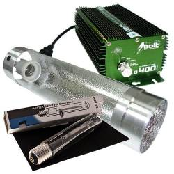 Kit 400 W Bolt + Cooltube 125 mm + Philips Master Son t-Pia Green Power 400 W