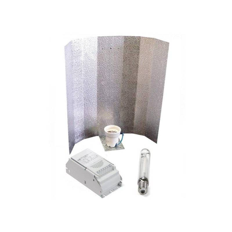 Kit 400 W Eti + Reflector Stuco + Sylvania Shp-ts 400 W