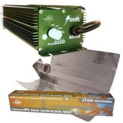 Kit 600w Bolt + Reflector...