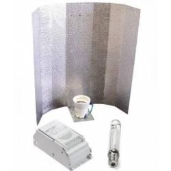 Kit 600 W Eti + Reflector Stuco + Sylvania Grolux 600 W