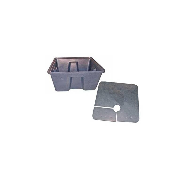 Tanque +cubierta + Tapon Para Dutch Pot 2m2