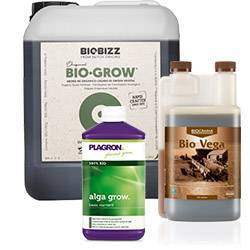 Fertilizantes orgánicos crecimiento