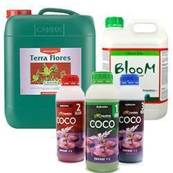 Fertilizantes minerales Floración