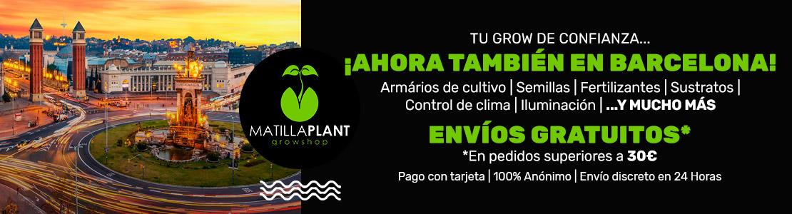 Grow Shop en Barcleona - Matillaplant