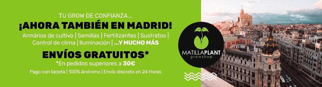 Somos tu grow Shop en Madrid de confianza