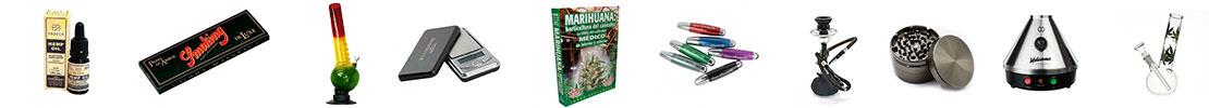 Parafernalia para marihuana